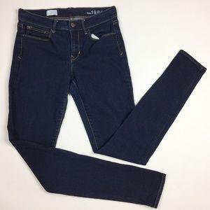 GAP Legging Jean Dark Wash Skinny 28 / 8 Tall